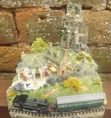 "Danbury Mint Country Lines Collection ""A Glimpse of the Past"" Railway Diorama"