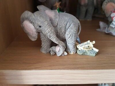 Tuskers Elephant- Love is Watching Over You- Perfect Condition with Original Box