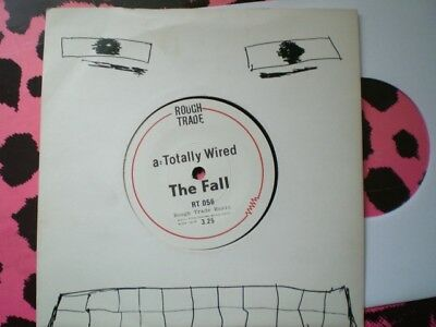 Punk - The Fall - Totally Wired - Picture Cover