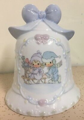 1995 Precious Moments Christmas Bell
