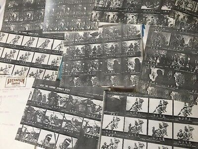Star Wars 1979 Kodak Production used Contact Sheets Phil Tippett. George Whitear
