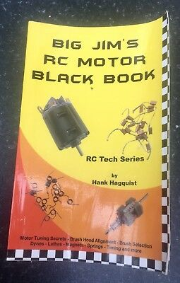 Big Jim's RC Motor Black Book. Rare and in Good Condition