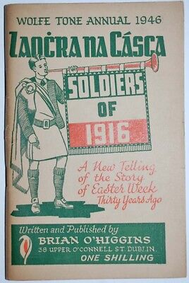 Wolf Tone Annual 1946 Soldiers of 1916 Rising Irish History Ireland