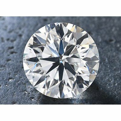 Nice  0.75 ct 6.05 mm Off White Blue tint VS2 Round Loose Moissanite UK