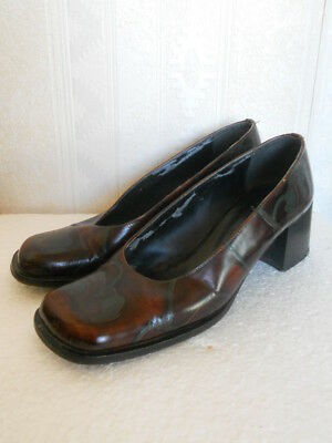 Cuoieria Fiorentina chaussures femme cuir vintage pointure 39 made in Italy
