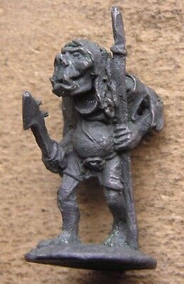 """OOp Citadel 1980s Fantasy Tribes Orcs FTO9 """" Orc c/w Spear Variant """" (A) !"""