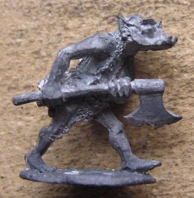 """OOp Citadel 1980s Fantasy Tribes Orcs FTO6 / C16 """" Orc c/w Axe Variant """" (C) !"""
