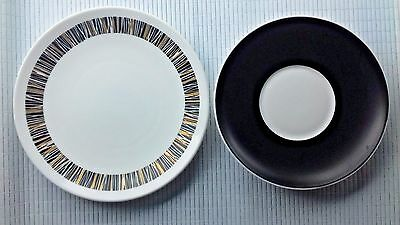 Royal Tuscan (Cascade) side plate and saucer.