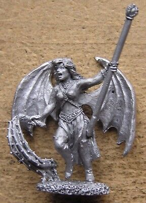 "Reaper Miniatures preslotta metal 28mm Fantasy Female "" Succubus "" !"