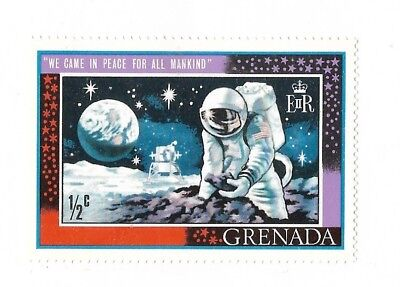 A Space Stamp From Grenada
