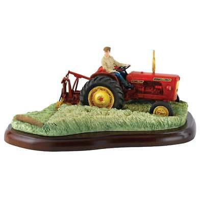 Border Fine Arts Farming Today Hay Cutting Tractor Figurine New Boxed A27733