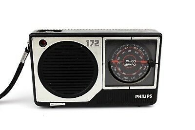 Radio Portable 2 Bandes GO/PO | PHILIPS 172 | Radio Handy 2-Band LW/MW VINTAGE