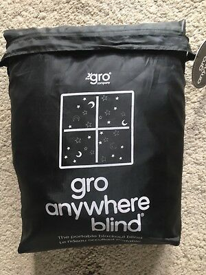 Gro Anywhere Blackout Blind BNWT