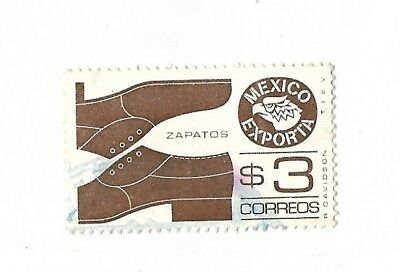A Postage Stamp From Mexico