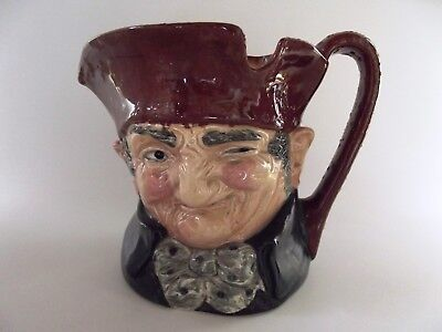 Large Antique Royal Doulton Toby Jug In Form Of Old Charley Ref 102/16