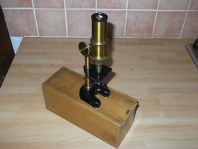 antique boxed  aitchison london and provinces microscope....dolland