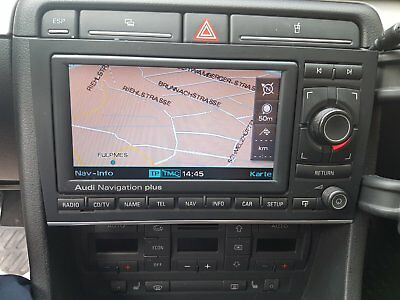 AUDI RNS-E NAVIGATION PLUS Navi MMI MP3 TV Audi A4 S4 RS4 B6 B7 GPS