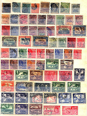 British Guiana 1862 – 1948 ***** 70 Stamps ***** 8 Mint