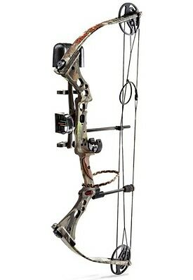 "New Parker SideKick Extreme Compound Bow Package 40-60# 18""-28"" Bear Right Hand"