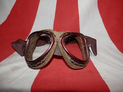 WW2 Japanese Goggles of Navy air force.Made by TGK company.Good.