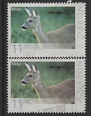 Norway / Norwegen 2017 new stamp in 2017 Venison