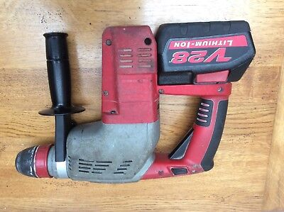 Milwaukee Hd 28Hx  M28 Sds With One Battery. Hammer Breaker Drill.