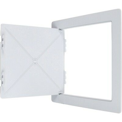 Wallo 10 X 10-Inch Plastic Access Door Reinforced Hinged Access Panel for Dry...