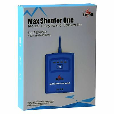 Mayflash Max Shooter One Mouse Keyboard Converter for PS3 PS4 XBOX 360 XBOX ONE