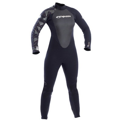 Typhoon Storm 5mm Wetsuit - Ladies - Back Entry Zip