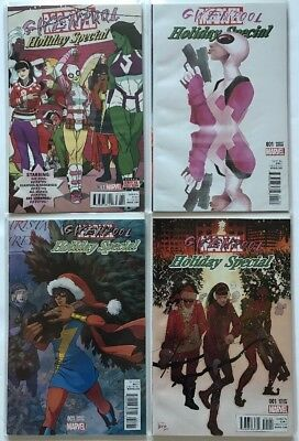 GWENPOOL SPECIAL #1 W/ 3 Variants, Marvel (2016) 1st Ptg NM