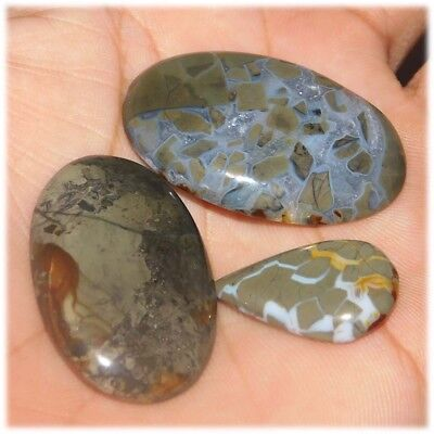 99.00 Cts ?Beautiful? 100% Natural Mix Lot Mix Size Mix Shape Cabochon Gemstone