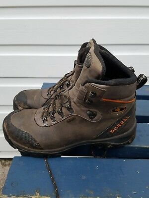 Boreal leather waterproof hiking walking boot size 7