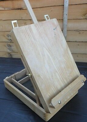 Portable Wooden Chatsworth Artists Box Easel
