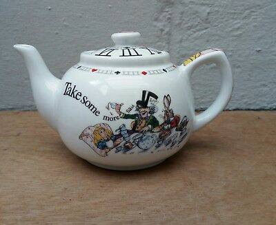 paul cardew alice in wonderland teapot. mad hatter. tea party. lewis Carroll.