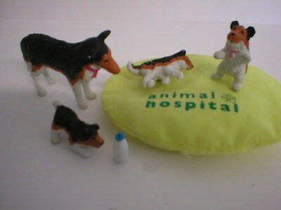 Puppy In My Pocket Animal Hospital Vintage Meg #135 Amy & Family Colour Change