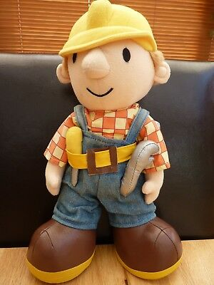 "Bob The Builder Soft Plush Toy - stands 13"" tall"
