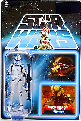 Clone Trooper Lieutenant The Lost Line Star Wars The Vintage Collection Hasbro