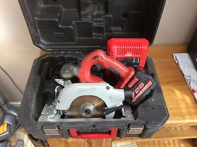 Milwaukee Hd28Cs Circular Saw. + 1 Battery.