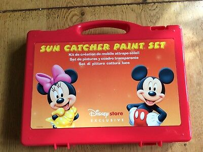 Disney sun catcher paint set mickey and Minnie mouse