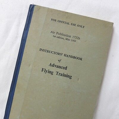 Ww2 Raf Ballykelly Pilots Manual Flying Training Royal Air Force Gunnery Bombing