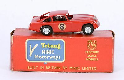 Triang Minic Motorways M1573 ASTON MARTIN DB4 EXCELLENT RUNNER REALLY EXC. BOXED