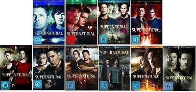 Supernatural Staffel 2-11 (2+3+4+5+6+7+8+9+10+11) DVD Set NEU OVP