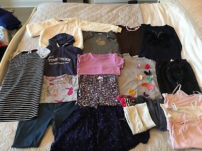 Girls Huge Autumn Winter Clothes Bundle Age 7-8 Years **20 Items**