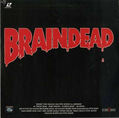 Laserdisc Braindead German release - SEALED -
