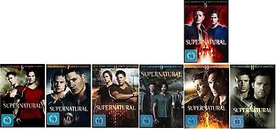 Supernatural Staffel 5-11 (5+6+7+8+9+10+11) DVD Set NEU OVP