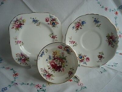 Lovely Hammersley Pattern Bone China Cabinet Cup Saucer and Plate #2