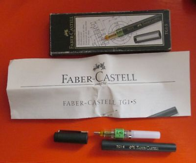 Faber-Castell TG1-S 0.30 & 0.50 Technical Pens + Rotring Rapidoliner 0.50  NEW