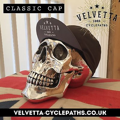 Velvetta Vintage/Retro Style Cycling Cap (Eroica) Summer Sale 🇬🇧