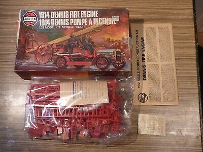 Airfix 1:32 scale 1904 Mercedes kit in original boxed