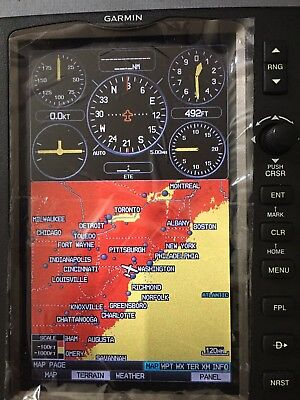 Garmin Color Aviation GPS MAP 696 with GXM 40 Antenna Weather ADS-B!!!!!